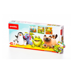 Animalutele mele, puzzle 3 in 1