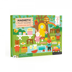 Casuta din copac, play set magnetic