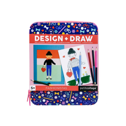 Fashonistas - kit de calatorie Design & Draw