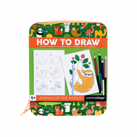 Animalute - kit de calatorie How to Draw